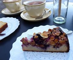 Gluten-free Blackberry & Almond Cake (penelopephotoshop) Tags: alexandrapark manchester uk cafe cakes tea coffee glutenfree blackberryalmond food sweettooth sweettreats