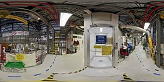 White_room_entrance_area_5000x2500 (DMolybdenum) Tags: space shuttle 360 panorama nasa kennedy center white room orbiter processing facility