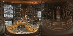 Vehicle Assembly Building 360, during shuttle era (DMolybdenum) Tags: space shuttle 360 panorama nasa kennedy center vehicle assembly building program