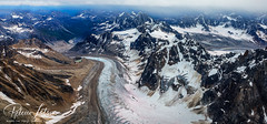 Over Mountains and Glaciers (Where The Trails Take You Photography) Tags: alaska glacier mountains rugged ruggedterrain bushplane aerialphotography canon outdoors landscape wherethetrailstakeyou 1dx 2470 2470mm summer august
