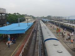 201912049 Chengalpattu Junction railway station (taigatrommelchen) Tags: 20191249 india chengalpattu central perspective urban city railway railroad station train ir