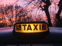 Roof taxi sign (*SHERWOOD*) Tags: france vendée larochesuryon home garden londontaxi fairwaydriver taxianglais rooftaxisign