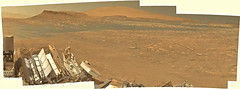 Curiosity mastcam R sol 2600 re debayer _ (2di7 & titanio44) Tags: panorama mars nasa jpl caltech msl debayer demosaicing bayer curiosity rover rtg