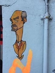 Lenin (svennevenn) Tags: bergen streetart gatekunst pasteups viceroynute nute lenin