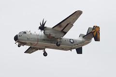 United States Navy Grumman C-2A Greyhound 162141 (jbp274) Tags: nzy knzy northisland nasnorthisland airport airplanes military unitedstatesnavy usn grumman c2 greyhound