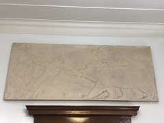 Angola, New York Post Office Relief (jimmywayne) Tags: angola newyork postoffice mural art newdeal historic relief nrhp nationalregister
