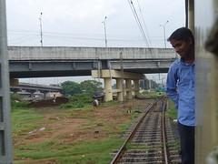 201912043 Tambaram railway station (taigatrommelchen) Tags: 20191249 india tambaram urban city railway railroad station train onboard