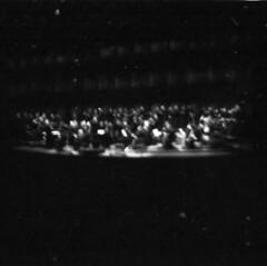 musicAeterna   salzburg (inmelancholysilence) Tags: film analog analogue lofi lomo lomography dianamini squareformat salzburg austria musicaeterna orchestra rehearsal