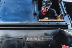 Taking care of the Engine (*Capture the Moment*) Tags: 2019 dampflok december dezember fotowalk munich münchen nikolauszug sonya7m2 sonya7mii sonya7mark2 sonya7ii sonyilce7m2 steamengine steamtrain train