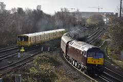 508138, 47826 & 47245 (Blundell Photography) Tags: merseyside merseyrail bls branchlinesociety class47 class 508 class508 508138 47826 47245 brush liverpool trains northern liverpoolcentralkirkby creweormskirk 1z28 1z29 1z30 1z280900creweormskirk clag thrash old mk1 mark1coaches sunnyday nikond3400 nikon 2k21 sandhills bankhall kirkdaledepot simplysuperb supershot