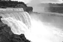 Niagara Falls 1968 (J Henry G) Tags: waterfalls niagarafalls travel blackandwhitephotography johnhenrygremmer