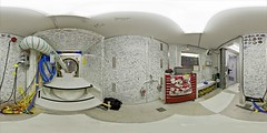 White_room_3840x2160_5000x2500 (DMolybdenum) Tags: space shuttle 360 panorama nasa kennedy center white room orbiter processing facility