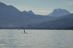 Paddleboarding @ Plage d'Albigny @ Annecy-le-Vieux (*_*) Tags: savoie morning matin 2019 december autumn automne fall sunny europe france hautesavoie 74 annecy annecylevieux lacdannecy lakeannecy albigny