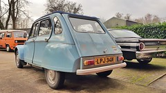 Citroen Dyane 1972 (© Andrew) Tags: car auto coche voiture old classic