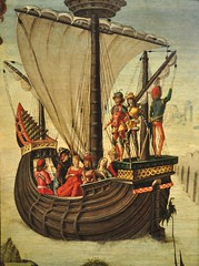 """Les Argonautes quittant la Colchide"", vers 1480, Ercole de Roberti (Ferrare, vers 1450- 1496), Musée Thyssen-Bornemisza, paseo del Prado, Madrid, Castille, Espagne. (byb64) Tags: madrid мадрид испания кастилия castille vieillecastille castilla castillalavieja eu europe europa европа espagne espana espanha spain spagna spanien ue museothyssenbornemisza muséethyssenbornemisza thyssen thyssenbornemisza musée museum museo музей музейтиссенаборнемисы ercolederoberti argonautes colchide argonautas argonauts cólquida colchis edadmedia gothic artgothique gothique gotico middleages moyenage medioevo xve quatrocento 15th"