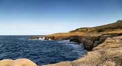 Gozo, Malta, North Coast, 2019 (Ant Sacco) Tags: malta gozo cliffs coast sea rocks
