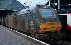 Class 68: 68034 Direct Rail Services Newcastle Central (emdjt42) Tags: directrailservices drs class68 68034 rhtt newcastlecentral