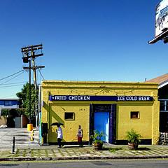 Los Angeles, California, USA (pom'.) Tags: panasonicdmctz101 losangeles california usa friedchicken icecoldbeer crawfords beverlyblvd la restaurant crawfordswestlake historicfilipinotown filipinotown