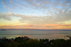 Sunrise over the Lake Champlain, Vermont (Andrey Sulitskiy) Tags: usa champlain burlington vermont
