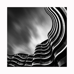 (Paul Evans.) Tags: long slow exposure timely black white mono chrome bw tripod nd filter fine art architecture
