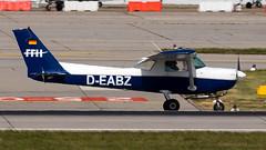 Cessna 152 D-EABZ FFH Aviation Training (William Musculus) Tags: stuttgart flughafen str edds airport spotting aviation william musculus plane airplane cessna 152 deabz ffh training c152
