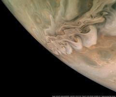 Clouds Up Close (NASA's Marshall Space Flight Center) Tags: nasa marshallspaceflightcenter msfc jetpropulsionlaboratory jpl solarsystemandbeyond juno jupiter space planets