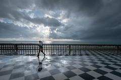 Livorno, Terrazza Mascagni (Cath Dominguez) Tags: terrazzamascagni pioggia rain clouds
