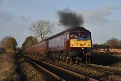 The Bootle Brush (wwatfam) Tags: brush type 4 class 47 47245 clag diesel locomotive west coast railways company wcrc trains railroad transport nantwich cheshire england britain