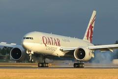Qatar Airways Cargo Boeing 777-200 A7-BFR 7th December 2019 (2) (asdofdsa) Tags: qatar airways cargo doncasterrobinhoodairport finningley aeroplane aircraft boeing777200 freighter sky runway boeing egcn fny southyorkshire nottinghamshire oldbawtryroad