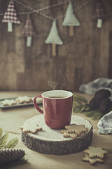Christmas is coming (Graella) Tags: chritsmas merrychristmas cookies handmade homemade stilllife cup winter seasons biscuits galletas taza cafe coffee hot kitchen bodegon seasonsmydiary 52semanas