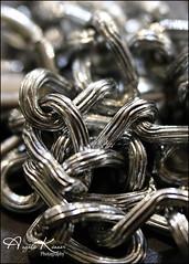 Chain... (angelakanner) Tags: canon70d lensbaby velvet56 chain macro manualfocus macromondays