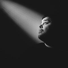 Testing snoot (holdemoore) Tags: snoot snootphotography bw blackandwhite blackwhite selfie selfportrait moody