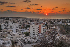 Below (syf22) Tags: cyprus paphos pafos below view viewpoint town city cityscape roof rooftop sunset sundown dusk cloud eve evening aurora cloudy citystreet cityscene cityskyline urban building