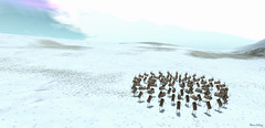 concentric herd // Wandering Rudolf @ Green Story (Mara Telling:) Tags: wanderingrudolf sl secondlife rudolph herd greenstory