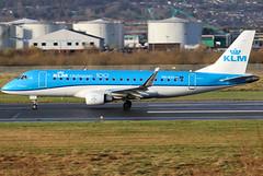 PH-EXX_04 (GH@BHD) Tags: phexx embraer erj erj175 erj175200 embraererj175200std klmcityhopper klm kl royaldutchairlines aircraft aviation airliner regionaljet bhd egac belfastcityairport