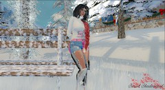 Let it snow (sryel90) Tags: hc hopes creations novelty sweater tpgproject ripped jaya jeans cinnamoncocaine goth christmas aura catwa kathy bento head slink physique classic mesh body hourglass {limerence} malika hair winter holiday village let it snow snowflakes cold white xmas