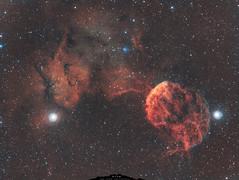 IC 443 Nébuleuse de la Méduse (Uwe Kamin Photography) Tags: astronomy astronomie andromède astro abell dark ha blanc espace nébuleuse profond uwe nuit nocturne tools