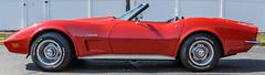 1973 Chevrolet Corvette Stingray (PMillera4) Tags: 1973chevroletcorvettestingray 1973 chevrolet corvette stingray red sportscar