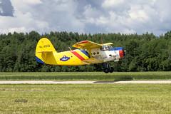 IMGP7283@L6S (Logan-26) Tags: antonov an2r pzlmielec ylccg msn 1g22539 private degumnieki airfield air show latvia flying fly aleksandrs čubikins