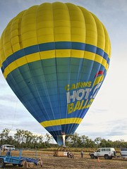 BALLOON RIDE CAIRNS QSL20181006_0009 (RF LEWIS 495) Tags: balloonride cairns queensland goldcoast australia