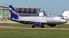 Airbus A320-214(WL) VP-BFA Aeroflot - Russian Airlines (William Musculus) Tags: stuttgart flughafen str edds airport spotting aviation william musculus plane airplane vpbfa aeroflot russian airlines airbus a320214wl a320200 afl su