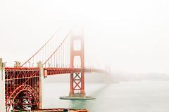 Golden Gate (Shiva Shenoy) Tags: goldengate bridge sanfrancisco 2011 summer fog landscape ektar