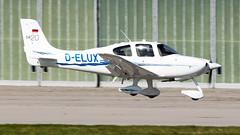 Cirrus SR20 D-ELUX Private (William Musculus) Tags: stuttgart flughafen str edds airport spotting aviation william musculus cirrus sr20 delux private plane airplane