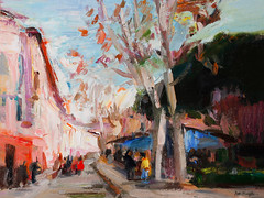 Granada in witer (http://annafineart.net/) Tags: expressionism imprrssionist contemporary modernart gallery artstudio spain pleinair oilcolors mixed mixedmedia modern landscape landscapes annafineart abstract abstractart abstractpainting art arts painter dailypainter artist oil painting paintings fineart finearts oilmedia oilpainting impasto cityscape city town granada spanish cityscapes street colores pastel pintura gente