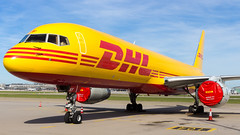 Boeing 757-236(PCF) G-DHKF DHL Air (William Musculus) Tags: stuttgart flughafen str edds airport spotting aviation william musculus plane airplane dhl air boeing 757236pcf gdhkf 757200pcf 757200f 757pcf dhk d0
