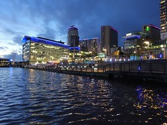 Colourful MediaCity in Salford, Manchester (Tony Worrall) Tags: salford manchester gmr mediacity sunset dailyphoto wet water scene scenic scenery beauty weather waves architecture building city welovethenorth nw northwest north update place location uk england visit area attraction open stream tour country item greatbritain britain english british gb capture buy stock sell sale outside outdoors caught photo shoot shot picture captured ilobsterit instragram bbc