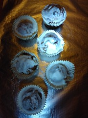 (Chris Hester) Tags: 490p wrights orange cake muffins silver foil icing
