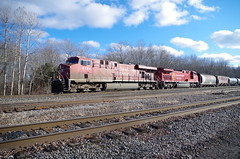 ashtabula 087 (Fan-T) Tags: ashtabula trailfail cp canadian pacific 67x oil train ohio youngstown line ns