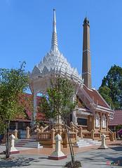 Wat Maneewanaram Meru or Crematorium (DTHU0670) (Gerry Gantt Photography) Tags: scenic thailand temple wat ubonratchathani tambonnaimueang mueangubonratchathanidistrict watmaneewanaram watmaniwanaram watpaanoi ประเทศไทย จังหวัดอุบลราชธานี ตำบลในเมือง อำเภอเมืองอุบลราชธานี วัดมณีวนาราม วัดป่าน้อย