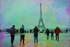 The iron Lady of Paris... ¸.•*´¨☆ (Mona Zimba) Tags: eiffel tower lady iron paris france trocadero place saariysqualitypictures